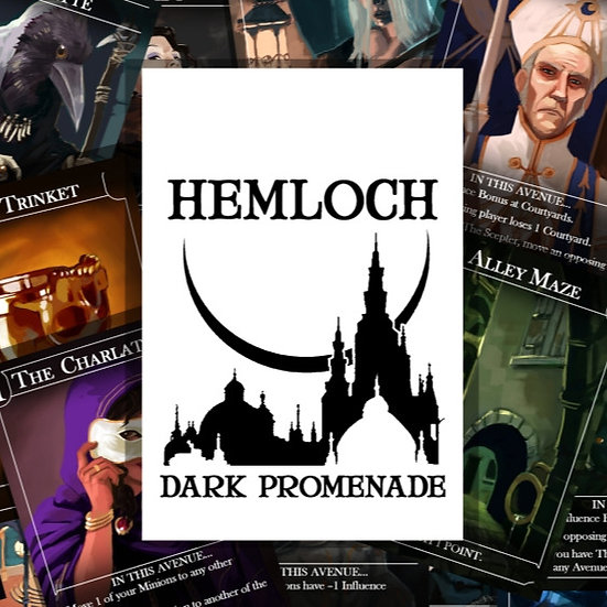 Hemloch: Dark Promenade.  Print and Play.