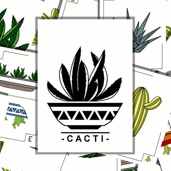 Cacti.  Print and Play.