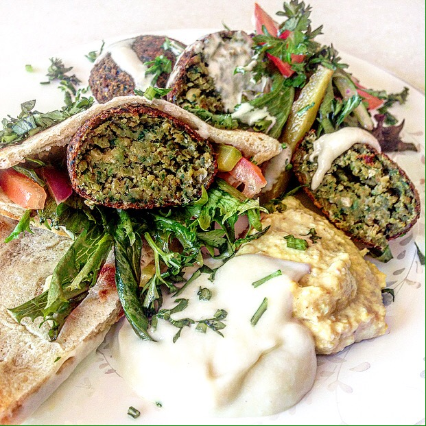 Falafel Feasting ~ Homemade Everything