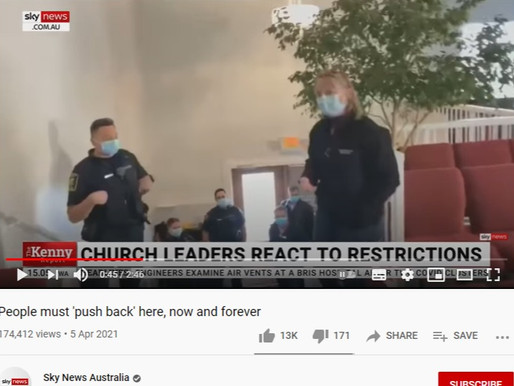 """""""Nazi's! Gestapo, get out!"""" ~Calgary Pastor who lived through communism in Poland"""
