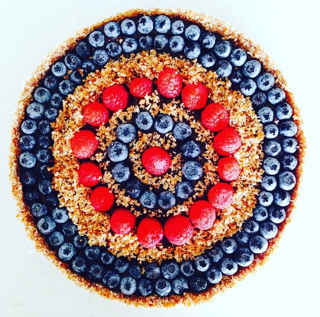 A Raw Fruity Torte