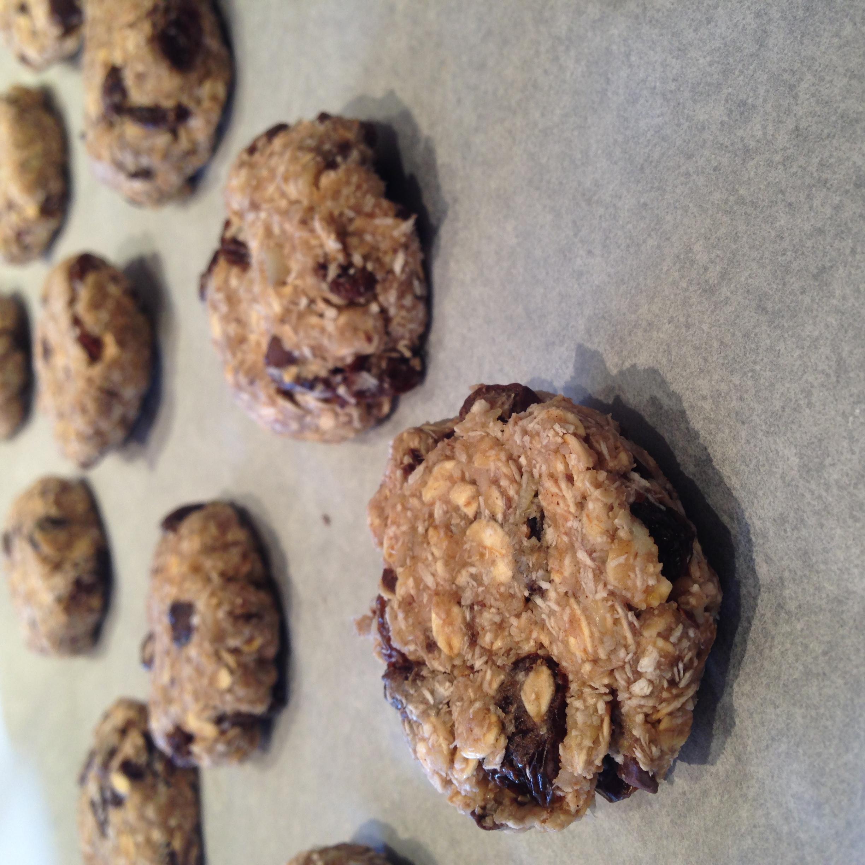 Banana Oatmeal Chocolate Chunk Cookies