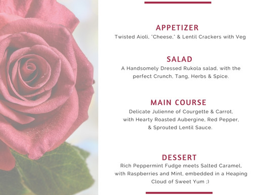 Set Menu For Your Party