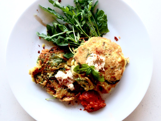 Leftovers = Fritters: An Idea, for You ;)