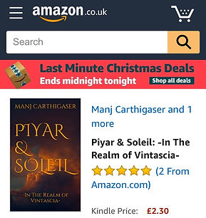 Piyar & Soleil on Amazon