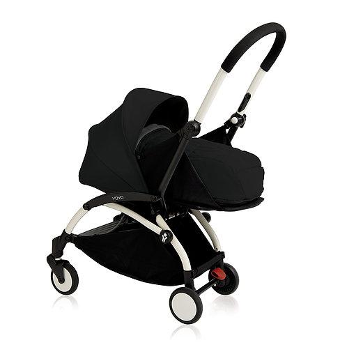 YOYO+ estructura blanca + newborn pack negro