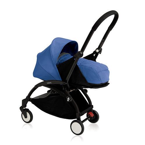 YOYO+ estructura negra + newborn pack azul