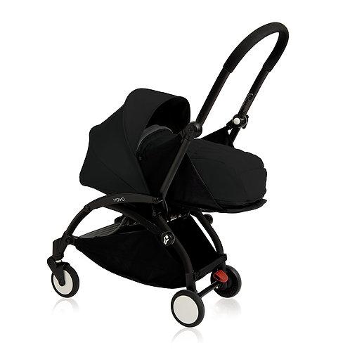 YOYO+ estructura negra + newborn pack negro