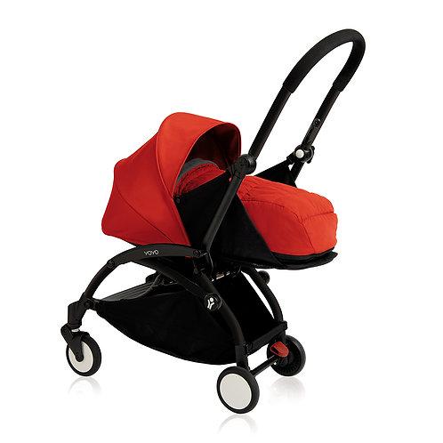 YOYO+ estructura negra + newborn pack rojo