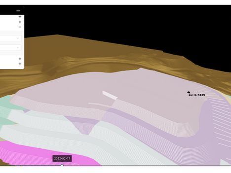 Opencontour Uses GPU–Accelerated 3D Animation to Visualize Mine and Stacking Plans