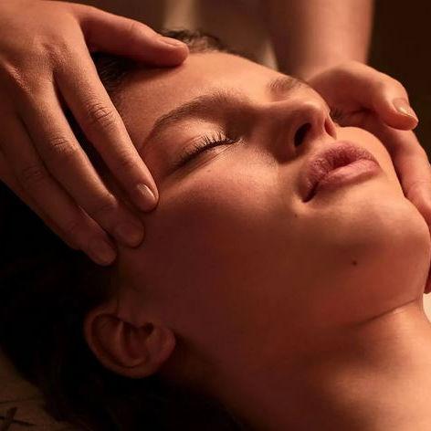 massage crânien  (reflexologie)