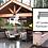 Thumbnail: Landscape & Outdoor Structure Vector Illustrator Icon Set
