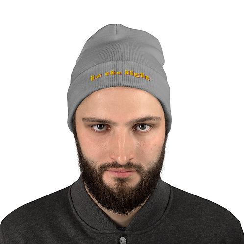 Be the Light Embroidered Beanie