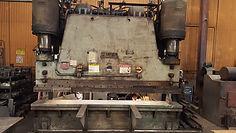Westmroeland Steel Press Brake custom low run heavy