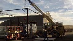 Westmoreland Steel Testing, patial assembly fabrication custom