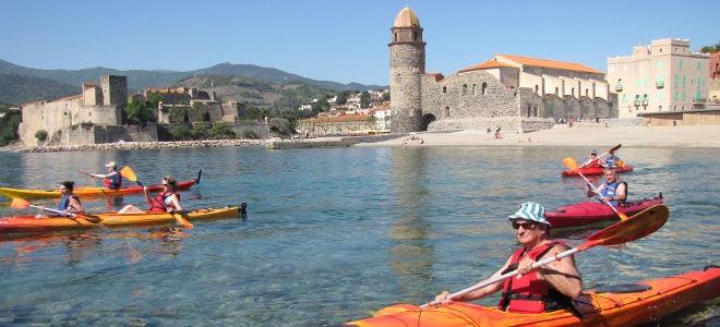 Collioure en kayak (1/2 journée)