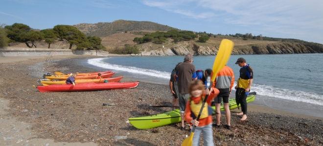 Baie Paulilles en Kayak (1/2 journée)