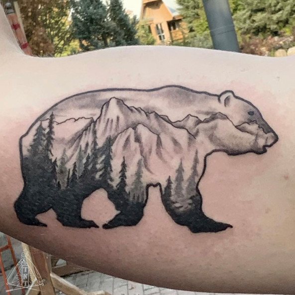 Bear tattoo!