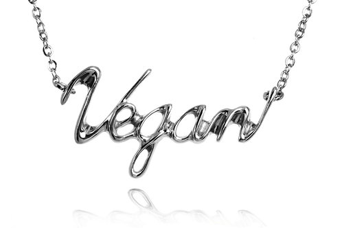 Vegan  Necklace  Surgical stainless steel 316L