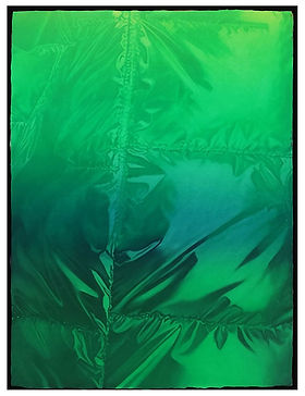 Untitled(puffer-greenblue)_40x30cm_2021.