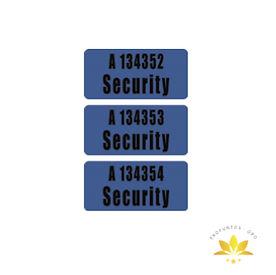 SECURITY Etiqueta de Ekomille