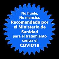 Recomendado por el Ministerio de Sanidad para el tratamiento contra el COVID19