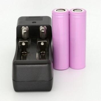 Cargador doble baterías ekontrol