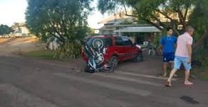 Motociclista sofre acidente durante fuga da PRF