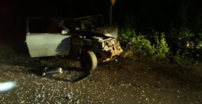 Homem morre em acidente na SC 283, em Balneário de Pratas/São Carlos