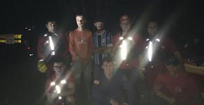 Quatro pessoas ficam ilhadas e são resgatadas em Salto Saudades no interior de Quilombo-SC