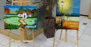 Exposição de trabalhos de Artes foram destaques em locais públicos de São Carlos