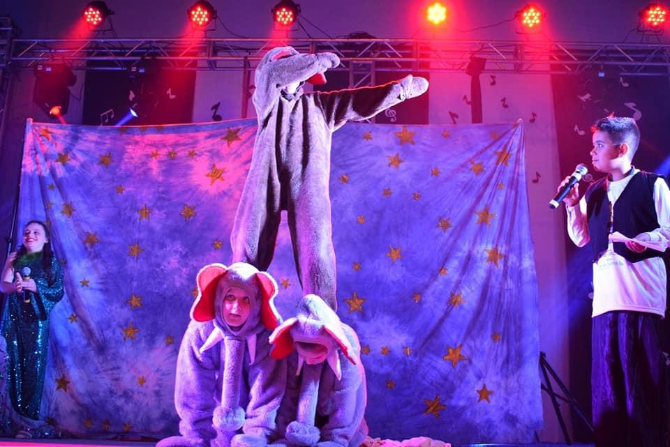 Espetáculo em Águas de Chapecó