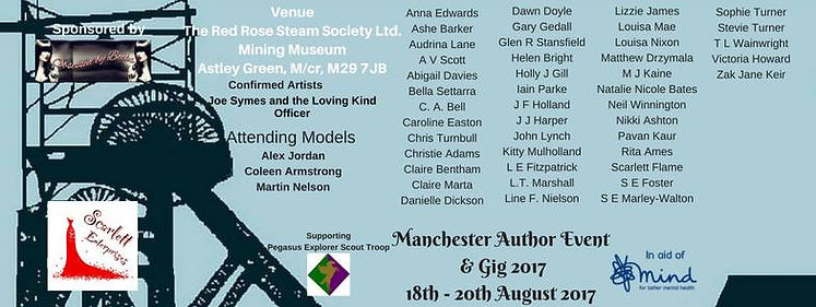 Manchester author event