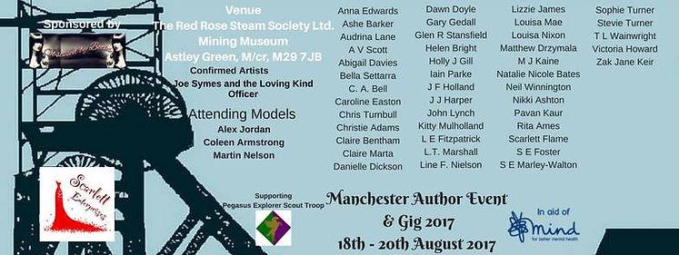 Manchester author event
