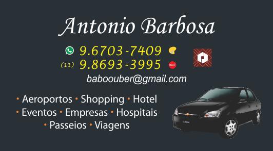 Antonio Barbosa - Uber