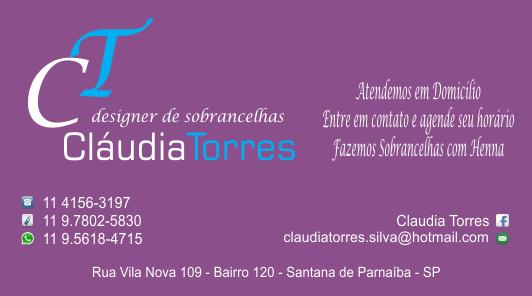 Cláudia Torres - Designer de Sobranc