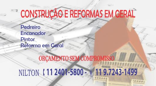 Nilton - Construção e Reforma