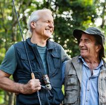 senior-friends-fishing-by-the-lake-L59HV