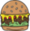 Alice Clark Burger Food Vector Illustration