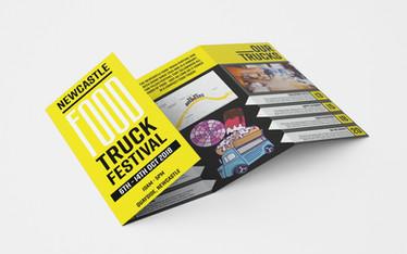 Food Truck Festival - Leaflet Design