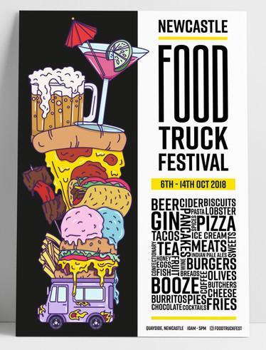Food Truck Festival - Poster Design