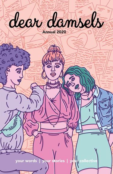 Dear Damsels - Annual Cover