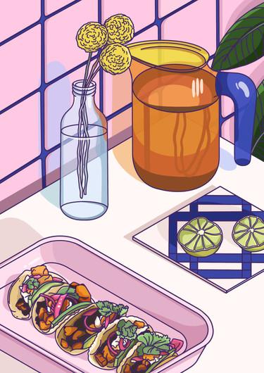 Food Illustration - Tacos