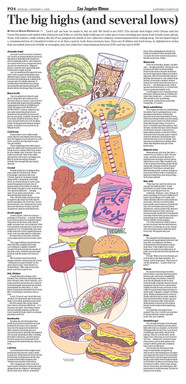 The LA Times Food - Editorial Illustration