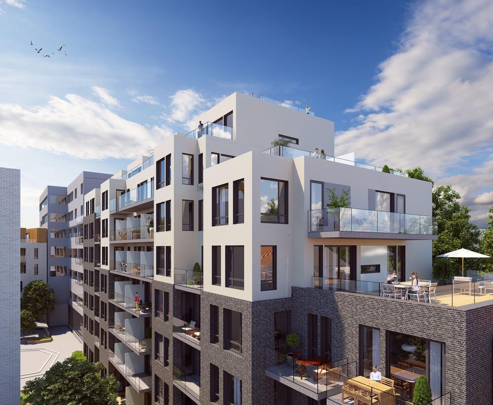 Stor etterspørsel etter leiligheter på Millskvartalet i sommer