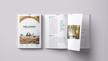 Holloway Magazine Concept