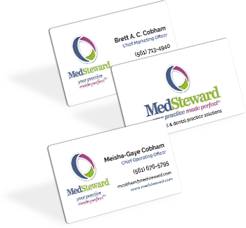 MedSteward - business cards