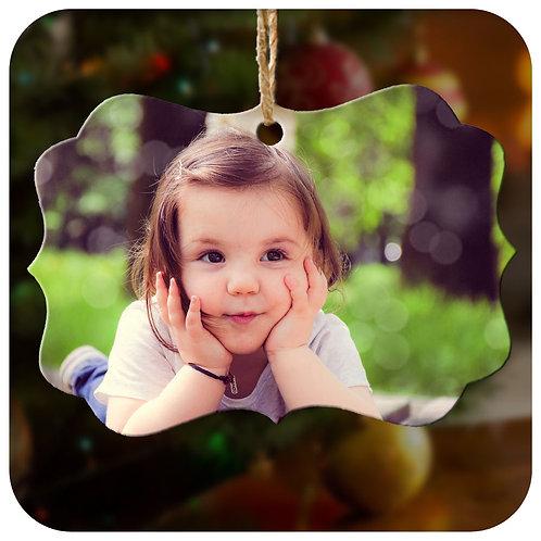 Photo on ornament