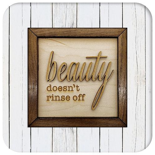 Beauty doesn't