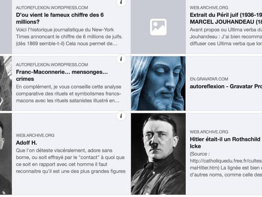 AutoReflexion, blog antisémite d'extrême-droite